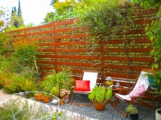 modernist fence