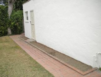 soil-ready edge for planting