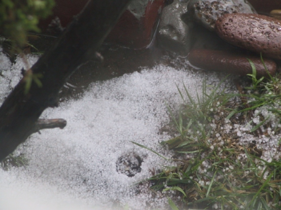 ice and rocks;hailstorm-jan.22, 2010